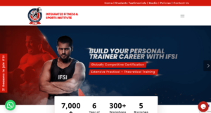 Integrated Fitness and Sports Institute Fitness Course